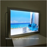 Щелчковое Frame СИД Light Box с Advertizing Display Board