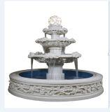 Vierkante Fontein van het Standbeeld van het Zandsteen van de Stijl van Boedha de Snijdende
