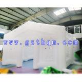 بيضاء لون متحمّلة [بفك] مشمّع وقاية قابل للنفخ عرس خيمة لأنّ حادث