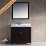 Module moderne de Bath en bois solide, vanité de salle de bains