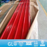 JIS ASTM 0.5mm 두꺼운 직류 전기를 통한 Galvalume 물결 모양 지붕 장