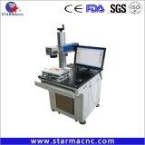 Macchina del laser della fibra del basamento 30W del generatore del laser di Starmacnc Haifu per la plastica del metallo dell'incisione della marcatura