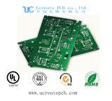 PCB de 1,6 mm com máscara de solda verde para celular