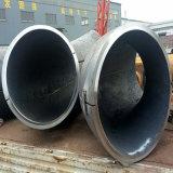 """Coude soudé par 50mm de l'ajustage de précision de pipe d'acier du carbone 36 """" A234wpb grand"""