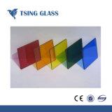 ISO/Ce/SGS 증명서를 가진 색을 칠한 강화 유리