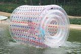 Rullo gonfiabile dell'acqua del parco dell'acqua, rullo gonfiabile variopinto gigante dell'acqua del rullo gonfiabile di scrutinio dal fornitore originale