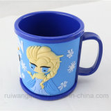 3D Embossed Cartoon Plastic Cup Mug für Kids