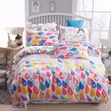 印刷されたホーム織物安いポリエステル寝具