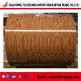 Lamiere di acciaio preverniciate grano di legno militare di colore PPGI