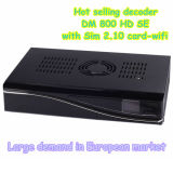 WiFi 2.1 /A8p Card를 가진 Dm 800HD Se Satellite Receiver