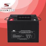 Bateria solar do gel da bateria do sistema solar da bateria Mlg12-80 do gel (12V80AH)