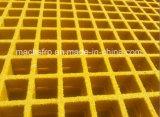 12.7mm高力防蝕の深いX50.8mmの正方形の網のFiberglass/FRPによって形成される格子