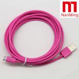 Микро- кабель заряжателя кабеля данных USB2.0