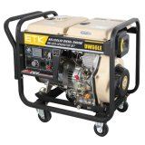 10HP 디젤 엔진 Generator&Welder Set_Upper 측