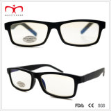 Square Frame (WRP410298AR)를 가진 남자의 반대로 Reflective Computer Reader Glasses
