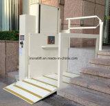 خطّ عموديّ أعجز أرضية مصعد/هيدروليّة بيتيّة كرسيّ ذو عجلات مصعد