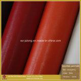 Рельефные Толстая ПУ искусственной кожи микрофибры для обуви (019)