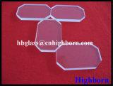 Finestra di vetro tagliata bobinatoio a cono del quarzo del silicone fuso di alta qualità