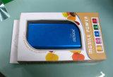 明確なWindows (PVC折るボックス)が付いているプラスチック移動式力バンクの包装ボックス