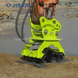 Compactador de placa de vibração hidráulica escavadeira para escavadeira Hyundai (DLKC08)