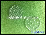 Personnaliser l'alésage de silice de haute pureté morceau de verre de quartz