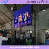 Indoor Full Color Rental Display LED (gabinete de alumínio fundido sob pressão)