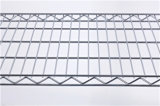 NSF Adjustable Metal Drugstore Pharmacie Wire Shelf Rack avec roues