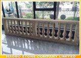 Het Traliewerk van het Balkon van de Steen van de Balustrade van de Trede van het graniet