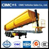 CIMC Tri-eixo traseiro Tipping Tipper Semi Reboque Basculante
