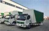 carro del camión del carro del cargo de 4X2 Dongfeng DFAC 120HP 6-7t Van Box Truck