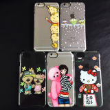 Crystal PC Mobile Phone Cases Cover para iPhone