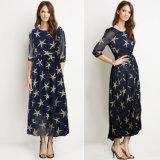 夏の服の星によって印刷される軽くて柔らかいオフィスの軽くて柔らかい服デザイン