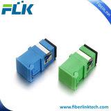 Adapter LC van de Vezel van de telecommunicatie de Optische Duplex met AutoBlind