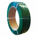 De groene Kleur maakte de JumboRiem van de Polyester van het Broodje in reliëf
