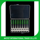 Пластичная Interdental щетка чистки щетки для щетки зубов Interdental