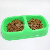 Ciotola di plastica ecologica del cane di animale domestico, ciotole dell'alimentazione dell'alimento di cane