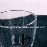 Tazza di vetro con la maniglia per caffè