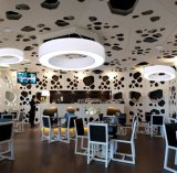 Tour moderne élégant pendentif bague LED lampe de plafond de lumière