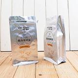 Мешки упаковки кофеего с специальной застежкой -молнией разрыва и плоским дном
