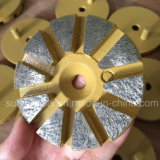 3 Inches 10 Seg 1 Pine Metal Jump Diamond Grinding Polishing Disc