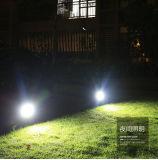 Riflettore solare sotterraneo dell'indicatore luminoso LED dell'inserto esterno del giardino 2018