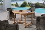 Patio al aire libre Jardín Ploywood Home Hotel Restaurante de la Oficina Frankfurt Mesa y Silla de Comedor Extensible (J614)