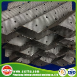 Embalaje estructurado acanalado placa perforada del metal