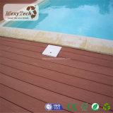 Decking indonesio compuesto impermeable popular barato de la madera dura de WPC