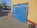 Barriera di sicurezza provvisoria di collegamento Chain del metallo della costruzione di vendita calda