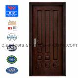 Porta americano estilo ocidental porta corta-fogo de madeira