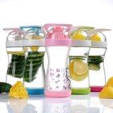 Творческая конструкция портативной пластичной чашки лимона