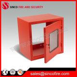 Нержавеющий шкаф пожарного рукава для вьюрка огнетушителя и шланга