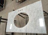Bianco Carrara 백색 대리석 허영 상단