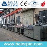 Perfil de plástico de PVC madera WPC/máquina de extrusión de la línea de producción de paneles de pared